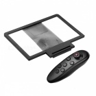 Cwxuan Foldable 3D Video Screen Magnifier Holder Bluetooth Controller