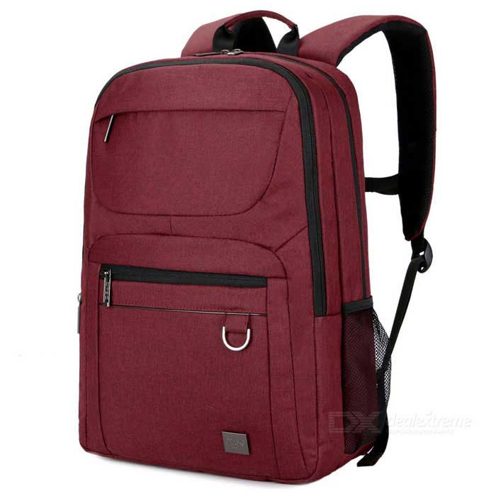 DTBG D8179W 15.6 Nylon Water-Resistant Nylon Laptop Backpack - RedBags and Pouches<br>Form  ColorRedModelD8179WQuantity1 DX.PCM.Model.AttributeModel.UnitShade Of ColorRedMaterialNylonCompatible Size15.6 inchTypeBackpacks,Tote BagsPacking List1 * Backpack<br>