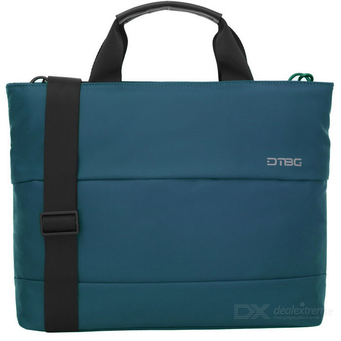 DTBG D8197W 13.3 Water Resistant Nylon Laptop Shoulder Bag - BlueBags and Pouches<br>Form  ColorBlue (13.3 Inch)ModelD8197WQuantity1 DX.PCM.Model.AttributeModel.UnitShade Of ColorBlueMaterialNylonCompatible Size13.3 inchTypeMessengers,Tote BagsPacking List1 * Hand bag<br>