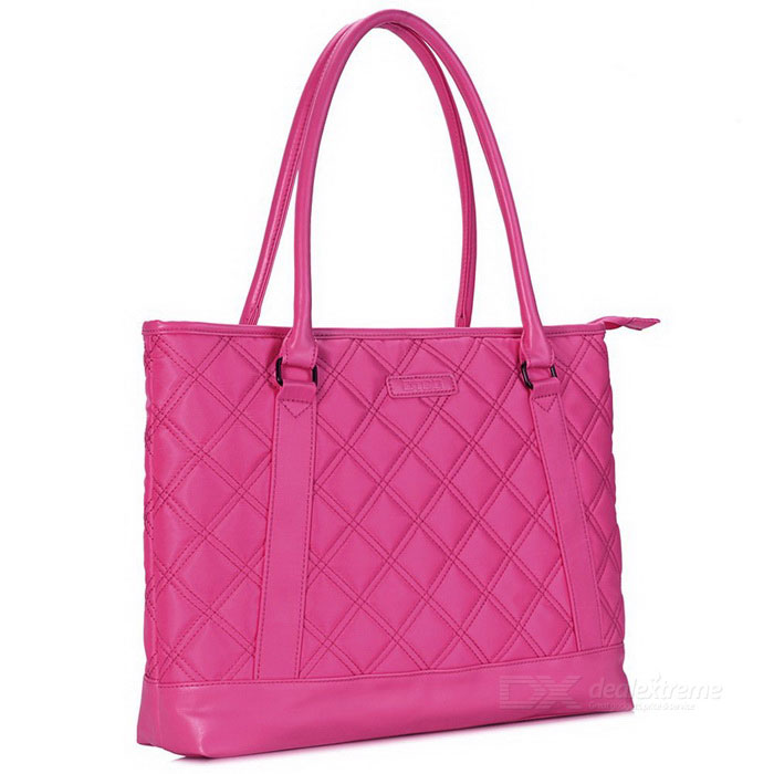 DTBG D8194W 15.6 Nylon Classic Diamond Pattern Laptop Tote Bag - RedBags and Pouches<br>Form  ColorRedModelD8194WQuantity1 DX.PCM.Model.AttributeModel.UnitShade Of ColorRedMaterialNylonCompatible Size15.6 inchTypeTote BagsPacking List1 * Tote bag<br>