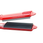 LOOF JR-118 Titanium Alloy Five Teeth Hair Curler - Red (UK Plug)