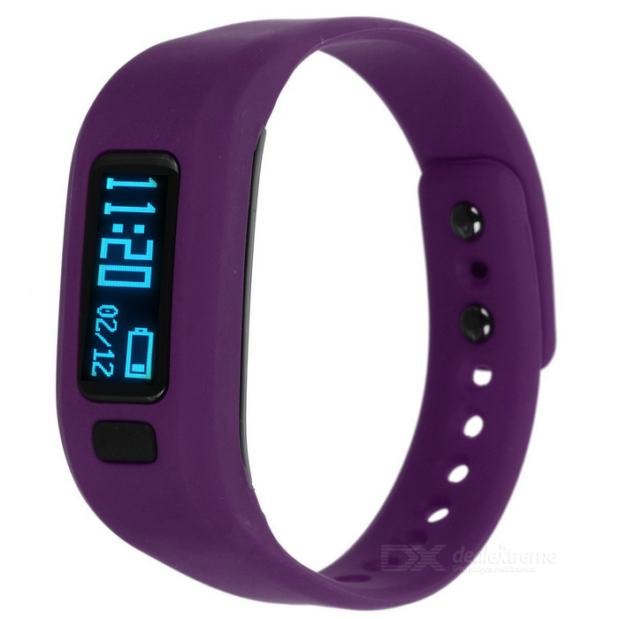 KICCY UP2 0.91 OLED TPU Silicone Smart Bluetooth Wristband - PurpleSmart Bracelets<br>Form  ColorPurpleModelUP2Quantity1 DX.PCM.Model.AttributeModel.UnitMaterialTPU + siliconeShade Of ColorPurpleWater-proofNoBluetooth VersionBluetooth V4.0Touch Screen TypeNoCompatible OSIOS &amp; AndroidBattery Capacity60 DX.PCM.Model.AttributeModel.UnitBattery TypeLi-polymer batteryStandby Time4~7 DX.PCM.Model.AttributeModel.UnitPacking List1 * Smartband1 * USB Cable (30cm)1 * Chinese / English manual<br>