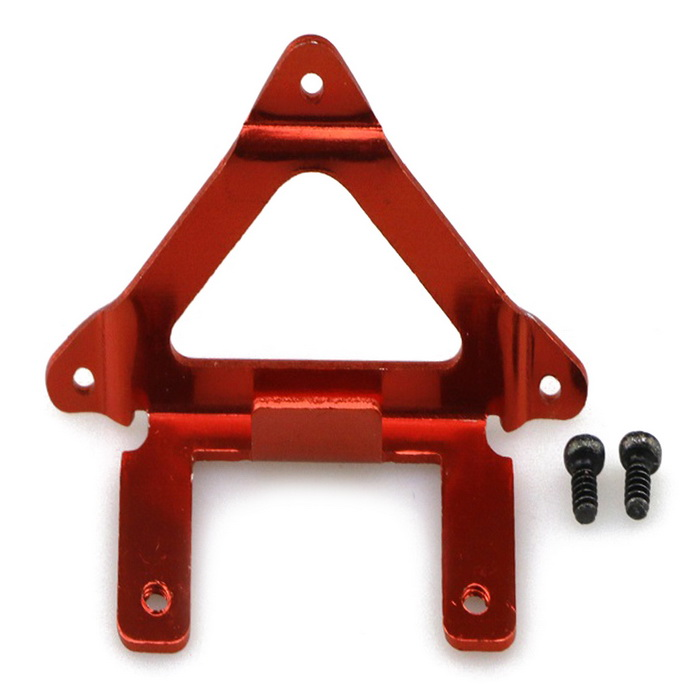 High Quality Alloy Camera Holder Mount for JJRC H36 Quadcopter - RedOther Accessories for R/C Toys<br>Form  ColorRedMaterialAlloyQuantity1 DX.PCM.Model.AttributeModel.UnitCompatible ModelH36CertificationCEOther FeaturesRC Vulnerability AccessoriesPacking List2 * Fixed screws1 * Fixed frame<br>