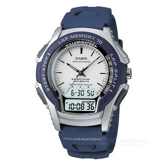 Casio WS-300-2EVSDF Analog Digital Sport Watch - Blue (Without Box)