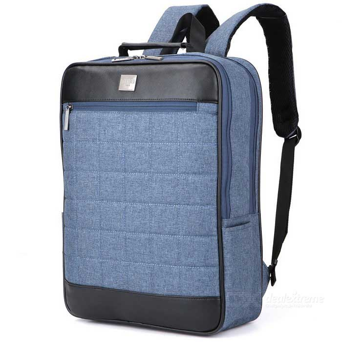 DTBG D8174W 15.6 Water-Resistant Unisex Laptop Backpack - BlueBags and Pouches<br>Form  ColorBlueModelD8174WQuantity1 DX.PCM.Model.AttributeModel.UnitShade Of ColorBlueMaterialNylonCompatible Size15.6 inchTypeBackpacks,Tote BagsPacking List1 * Backpack<br>