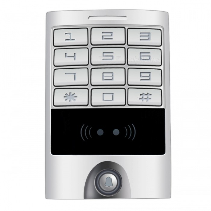 Metal-Keypad-Panel-Access-Control-Reader-for-Entry-Security-Silver