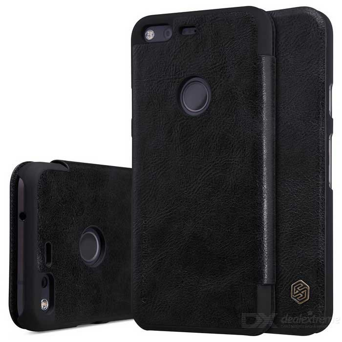 NILLKIN QIN Series Protective PU + PC Case for Google Pixel XL - BlackLeather Cases<br>Form  ColorBlackModelPixel XLMaterialPU + PCQuantity1 DX.PCM.Model.AttributeModel.UnitShade Of ColorBlackCompatible ModelsPixel XLFeaturesDust-proof,Shock-proof,Abrasion resistancePacking List1 * Protection case<br>
