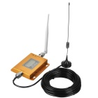 W-cdma 2100MHz LCD Repeater / 3G Handy Signal Booster - golden