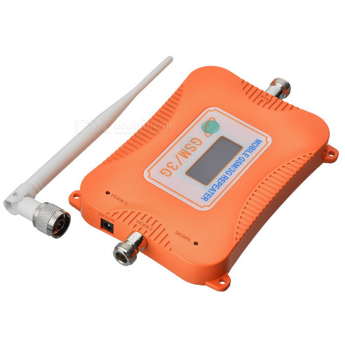 2G 3G 4G 900/2100MHz GSM WCDMA Signal Booster for Mobile Phone -Orange