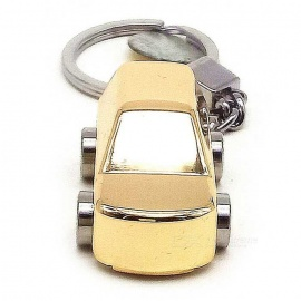 Mini-Car-Style-USB-Charge-Battery-Metal-Igniter-w-Keychain-Golden
