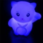 Cute Little Cat Color-changing Small Night Lamp