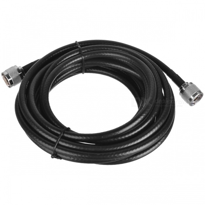 Buy 50ohm Pure Copper Mobile Phone Signal Booster Coaxial Cable (5m) with Litecoins with Free Shipping on Gipsybee.com