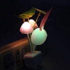 MLSLED Baby Rabbit Romantic Color Changing Mushroom LED Night Light