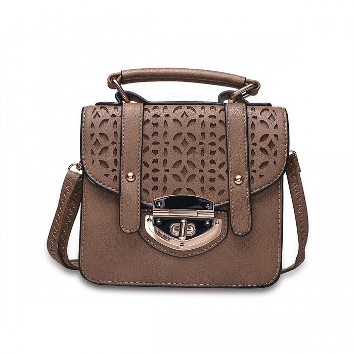 F005-3-Womens-Hollow-Out-PU-2b-Dacron-Shoulder-Bag-Hand-Bag