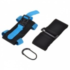 "Multifunctional Sports Armband Arm Bag for 5.5"" Phone or Below - Blue"