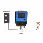 UEIUA CMK-2410 24V /10A Solar Charge Controller with LCD Display