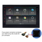 "Funrover 7"" quad-core android 5.1 car multimedia w / 16GB ROM - negro"