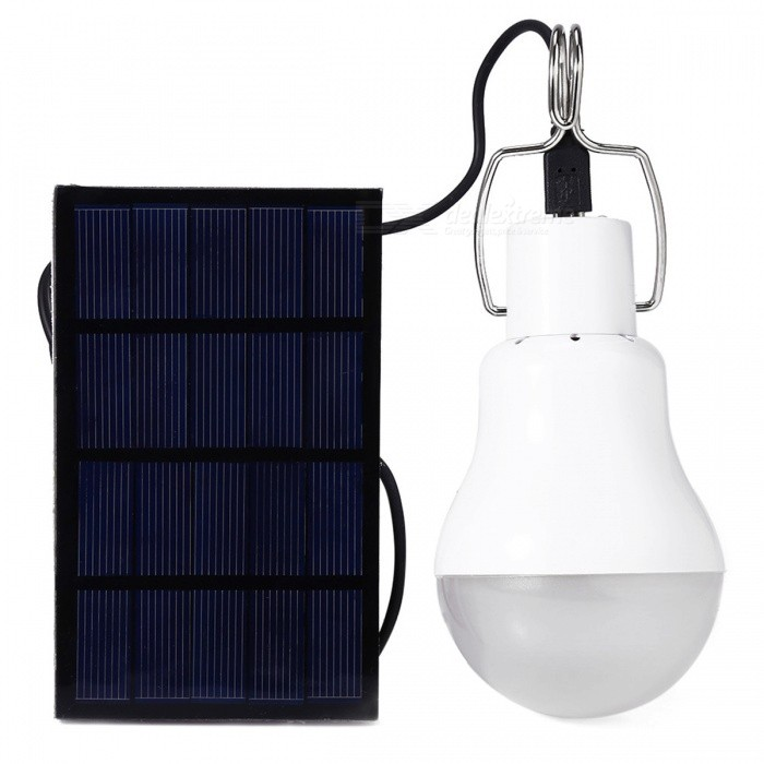 YWXLight Portable 5W12 Integrate LED Light w/ Solar Panel