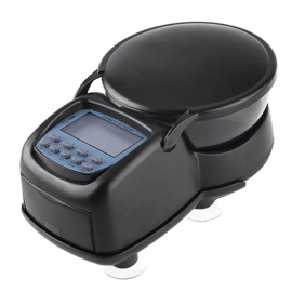 Multifunction-25-LCD-Time-Display-Automatic-Fish-Feeder-Black