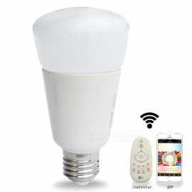 Jiawen-E27-9W-31-3528SMD-RGBW-Dimmable-Light-Smart-Bulb-Silver-2bWhite