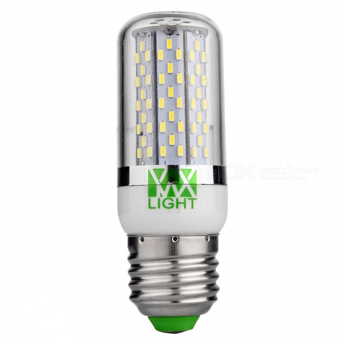YWXLight E27 7W SMD 3014 120-LED Cold White Corn Bulb LampE27<br>Color BINCool WhiteMaterialPCForm  ColorWhite + Orange + Multi-ColoredQuantity1 DX.PCM.Model.AttributeModel.UnitPower7WRated VoltageOthers,AC/DC 24 DX.PCM.Model.AttributeModel.UnitConnector TypeE27Emitter TypeOthers,SMD 3014Total Emitters120Theoretical Lumens700 DX.PCM.Model.AttributeModel.UnitActual Lumens550-650 DX.PCM.Model.AttributeModel.UnitColor Temperature6500KDimmableNoBeam Angle360 DX.PCM.Model.AttributeModel.UnitPacking List1 * YWXLight lamp<br>