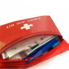 ZIQIAO Auto Multi-function Emergency Kits Car Field First Aid Kit -Red