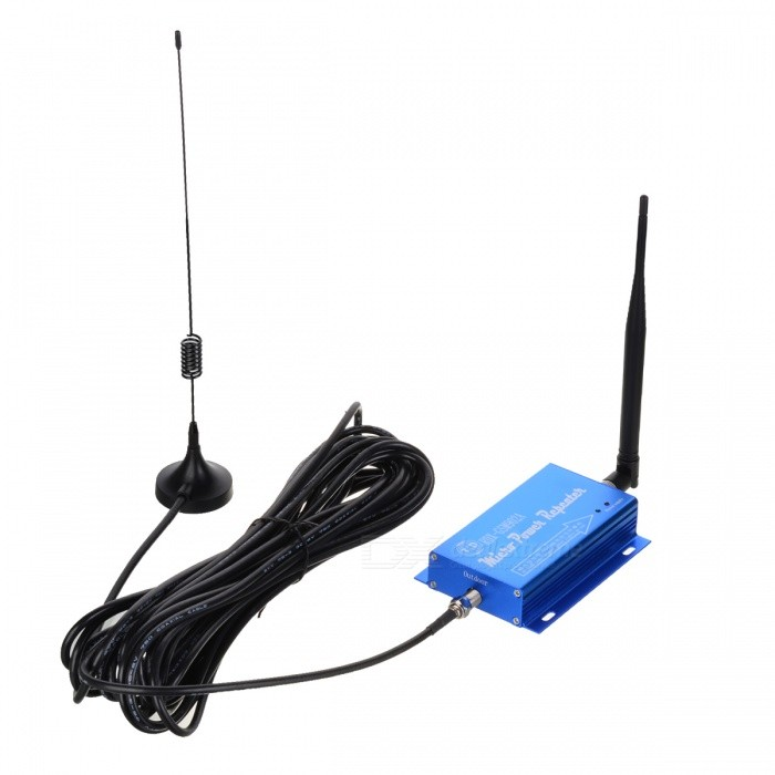 Buy 2G 3G 4G GSM 900MHz Mobile Phone Signal Amplifier Repeater with Litecoins with Free Shipping on Gipsybee.com