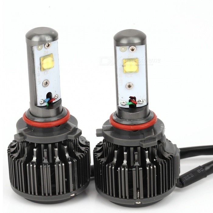 Joyshine K7-9006 (HB4) 30W LED Cold White Light Headlight Bulbs (2PCS)Headlights<br>Color BINCool White (9006/HB4)ModelK7-9006Quantity2 DX.PCM.Model.AttributeModel.UnitMaterialAluminum alloyForm  ColorBlack + RedEmitter TypeLEDChip BrandCreeChip TypeXML2Total Emitters4PowerOthers,30WColor Temperature6000 DX.PCM.Model.AttributeModel.UnitActual Lumens6000 DX.PCM.Model.AttributeModel.UnitRate VoltageDC 9V~36VWaterproof FunctionYesConnector Type9006,Others,HB4ApplicationHeadlamp,FoglightPacking List2 * LED headlight bulbs2 * Drive for working2 * Connector for plug &amp; play1 * Manual (English)1 * Box<br>