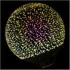 YWXLight G125 E27 5W 48-COB 3D Fireworks Effect LED Light Bulb