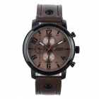8192-Military-Style-Alloy-PU-Leather-Strap-Mens-Quartz-Watch-Brown