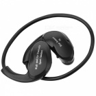 Cwxuan BS-F6 Bluetooth V4.0 Stereo Neckband Sports Earphones - Black