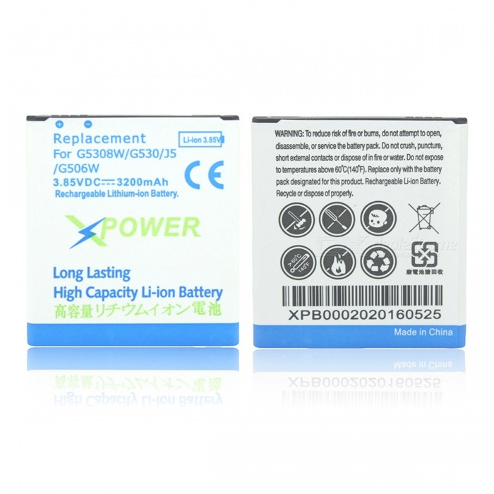 3200mAh Li-ion Battery Compatible for Samsung Galaxy J3 Pro / J3