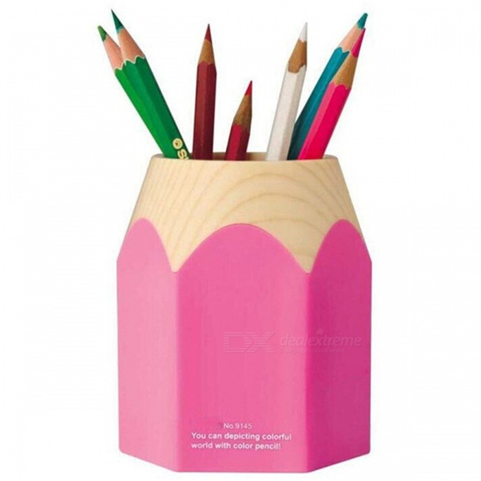 9145 PC Pen Pencil Pot Makeup Holder (Random Color)