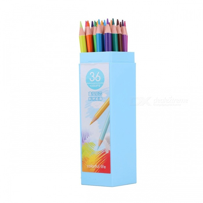 36 in 1 Drawing Sketching Color Pencils Set - Multicolor (36 PCS)Pencil<br>Form ColorMixed colorMaterialPlasticQuantity36 DX.PCM.Model.AttributeModel.UnitRefill ColorBlack,White,Red,Yellow,Green,Blue,Purple,Orange,Deep Pink,Brown,Grey,Silver,GoldenPacking List36 * Color Pencils<br>