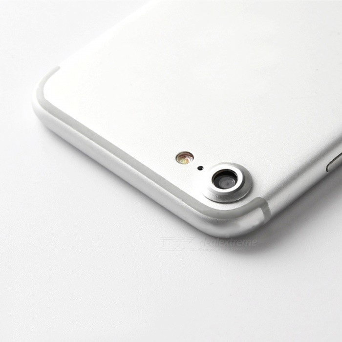 ENKAY Metal Camera Lens Cover for IPHONE 7 4.7 Inch - SilverOther Gadgets<br>Form ColorSilverQuantity1 DX.PCM.Model.AttributeModel.UnitMaterialAluminium alloyCompatible ModelsiPhone 7FeaturesAnti-scratchPacking List1 * Camera lens cover<br>