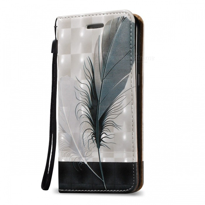 3D Embossed Feathers Pattern Magnetic Case for Samsung Galaxy S7Leather Cases<br>Form  ColorWhite + MulticolorModelN/AMaterialPU + TPUQuantity1 DX.PCM.Model.AttributeModel.UnitCompatible ModelsSamsung Galaxy S7Other FeaturesCard Slots, Magnetic Closure,Packing List1 * Case1 * Strap<br>