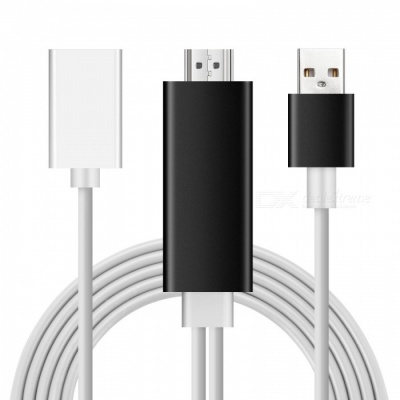 Kitbon Airplay Lightning to HDMI HD Mirroring Cable Adapter for iOS