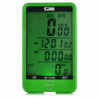 SUNDING-SD-576C-Wireless-Electronic-Bicycle-Computer-Green