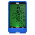 SUNDING-SD-576C-Wireless-Electronic-Bicycle-Computer-Blue