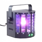 9 Color LED 2 Channel Remote Control Butterfly 2-Effect Stage Light