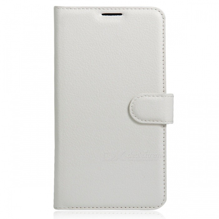 Flip-Open PU Leather Back Case w/ Wallet for Xiaomi Redmi 4A - WhitePhone Wallets<br>Form  ColorWhiteMaterialPUQuantity1 DX.PCM.Model.AttributeModel.UnitShade Of ColorWhiteCompatible ModelsRedmi 4APacking List1 x PU Leather Wallet Case<br>