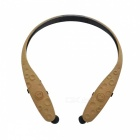 Bluetooth-V41-Stereo-Retractable-APTX-Sports-Headphone-Brown