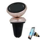 Cwxuan QY4 Magnetic Car Air Vent Mount Holder for Phone - Rose Gold