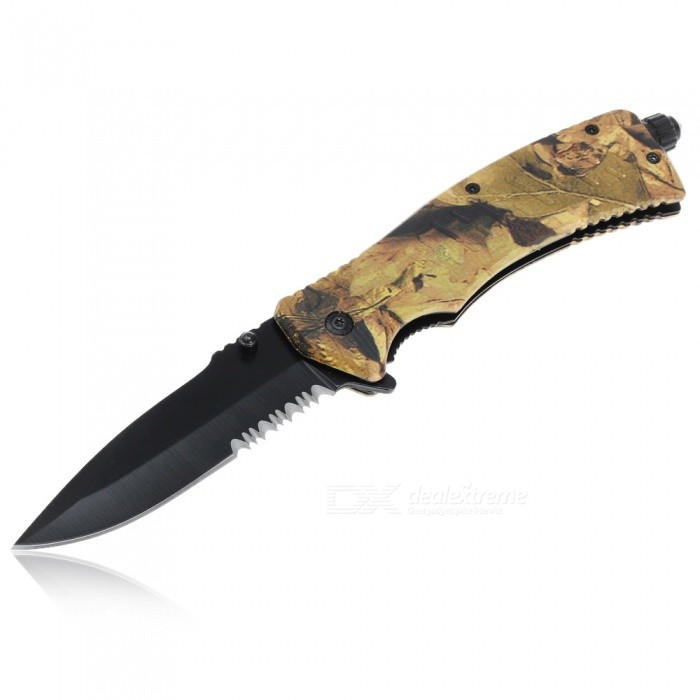 Outdoor Multi-function Folding Knife - Mixed Color