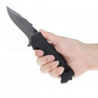 Outdoor Folding Knife for Camping Outdoors- Black