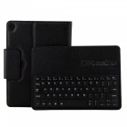 Miimall-P1318-Folding-Leather-Folio-Cover-Bluetooth-Keyboard-Black