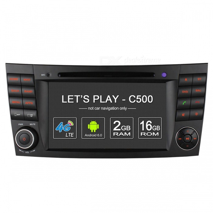 Ownice C500 Android 6.0 Quad Core HD Car DVD Player, 2GB RAM, 16GB ROM
