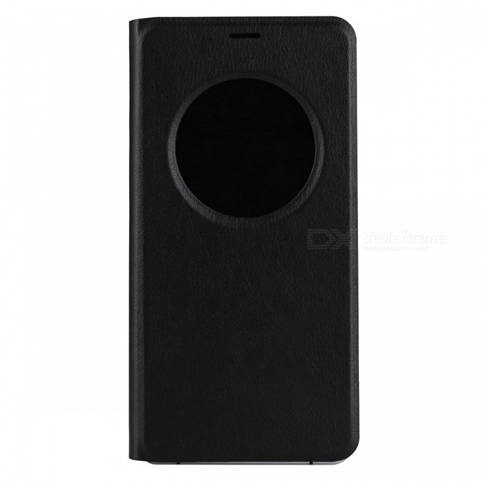 DOOGEE PU + Plastic Flip-Open Case for DOOGEE X7 / X7 Pro - Black