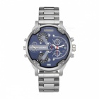 CAGARNY-6820-Fashion-Stainless-Steel-Quartz-Analog-Wrist-Watch-Silver