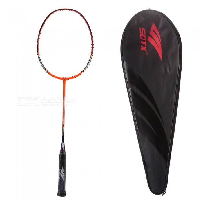 Buy SOTX Outdoor Badminton Training Racket for Man Women - Orange with Litecoins with Free Shipping on Gipsybee.com